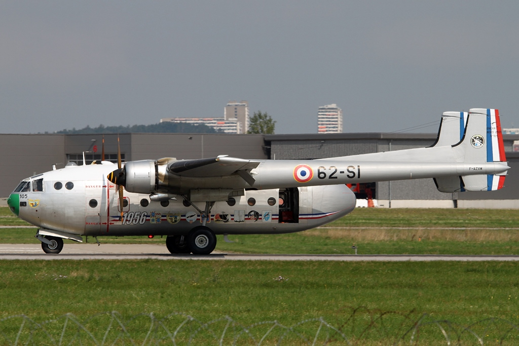 Private Nord 2501 Noratlas F-AZVM