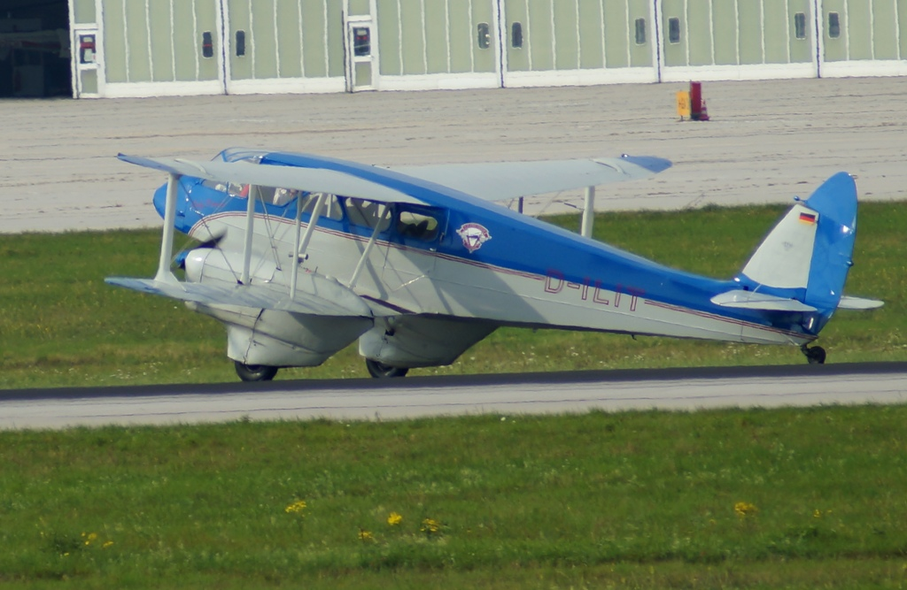 D-ILIT De Havilland DH-89 Dragon Rapide