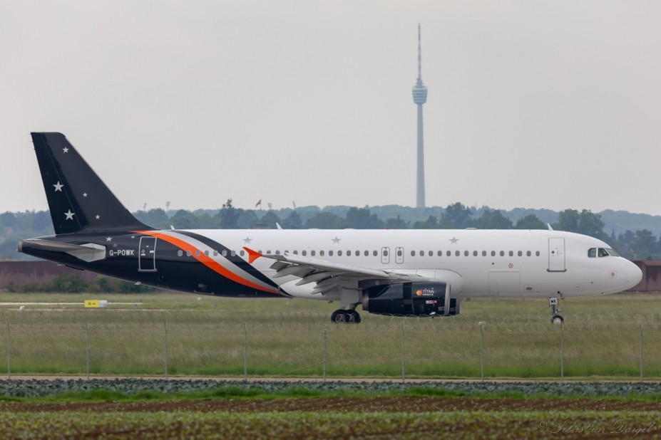 Titan Airways | G-POWK | Airbus A320-232