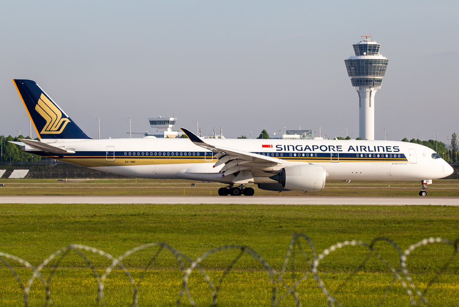 Singapore Airlines / 9V-SMD / Airbus A350-941