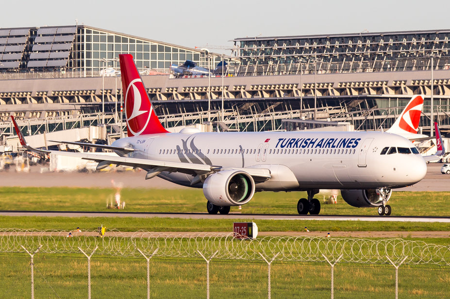 Turkish Airlines / TC-LSH / Airbus A321-271NX
