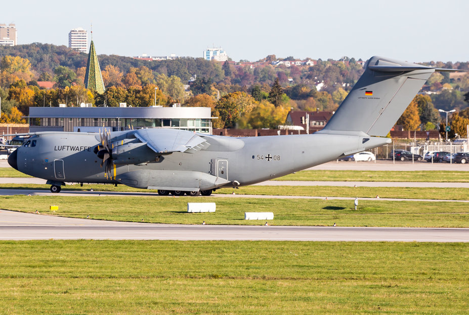 Germany Air Force / 54-08 / Airbus A400M