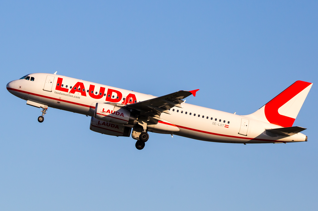 LaudaMotion / OE-LOT / Airbus A320-232