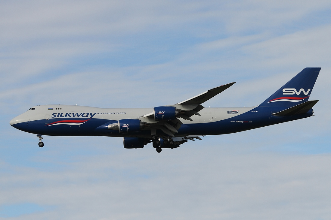 Silk Way West Airlines Boeing 747-83QF VQ-BWY