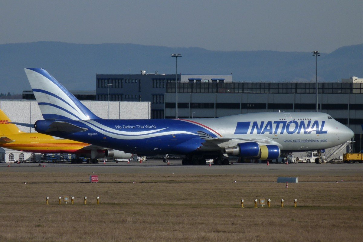 N952CA     747-428(BCF)       National Airlines