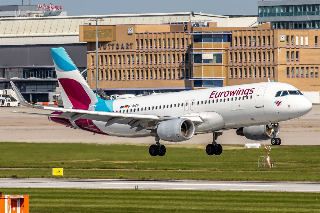 Eurowings / D-AIZV / Airbus A320-214