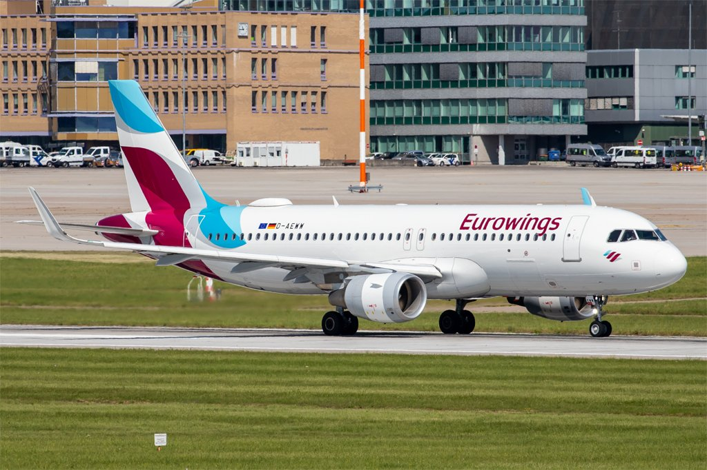 Eurowings / D-AEWW / Airbus A320-214
