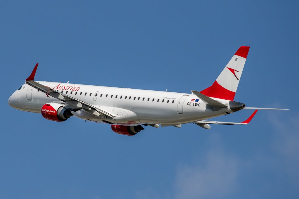 Austrian Airlines / OE-LWC / Embraer 190-200LR