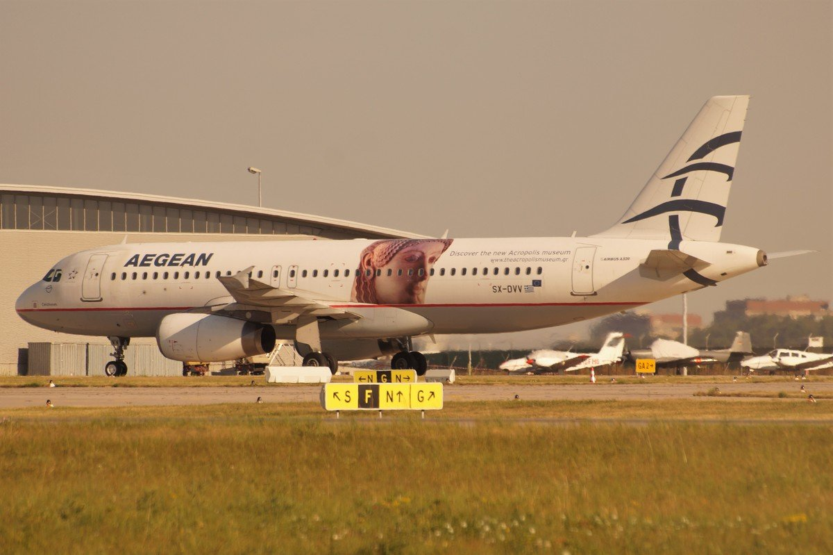 SX-DVV      A320-232    Aegean Airlines