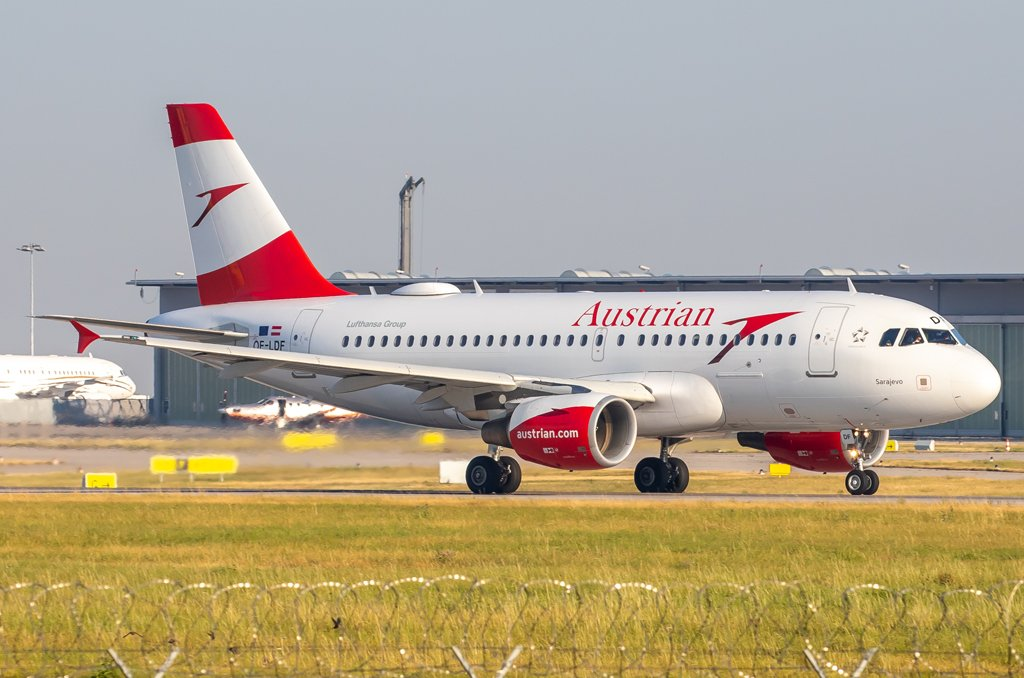Austrian Airlines / OE-LDF / Airbus A319-112