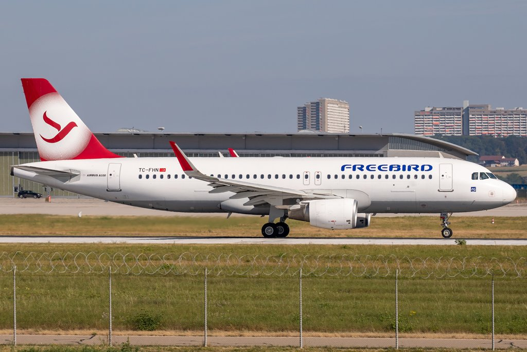 Freebird Airlines / TC-FHN / Airbus A320-214(WL)