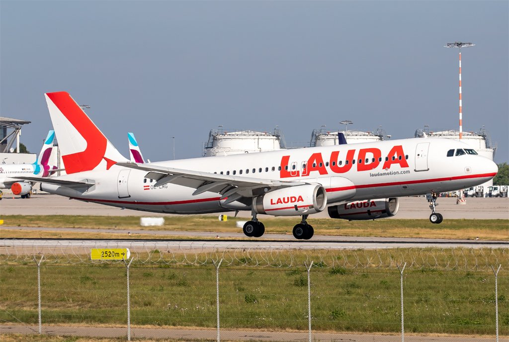LaudaMotion / OE-LMG / Airbus A320-232
