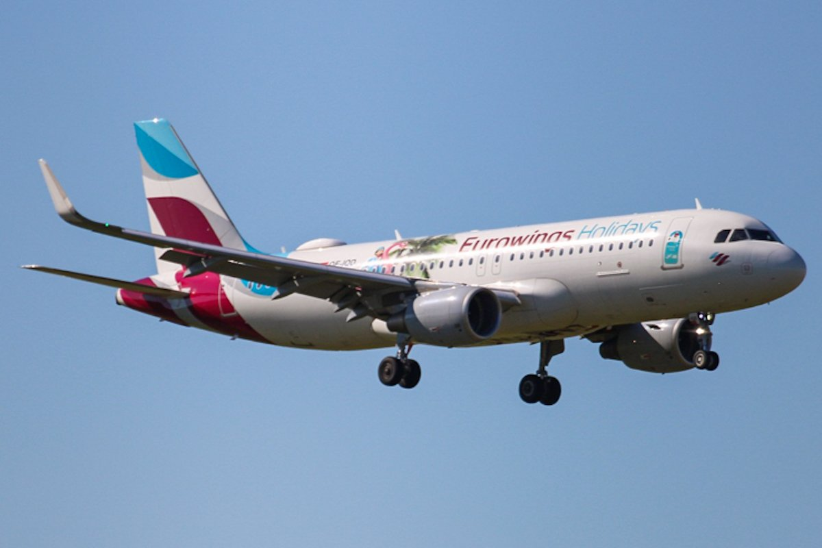 EW Holiday Livery A320