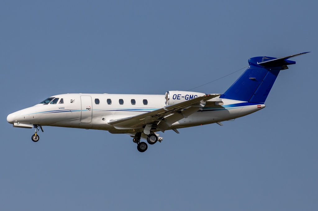 Tyrolean Jet Services / OE-GMG / Cessna 650 Citation VII