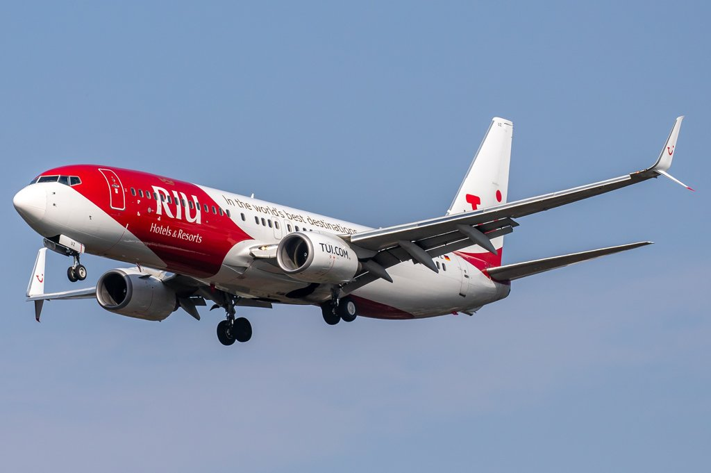 TUIfly / D-ATUR / Boeing 737-8K5