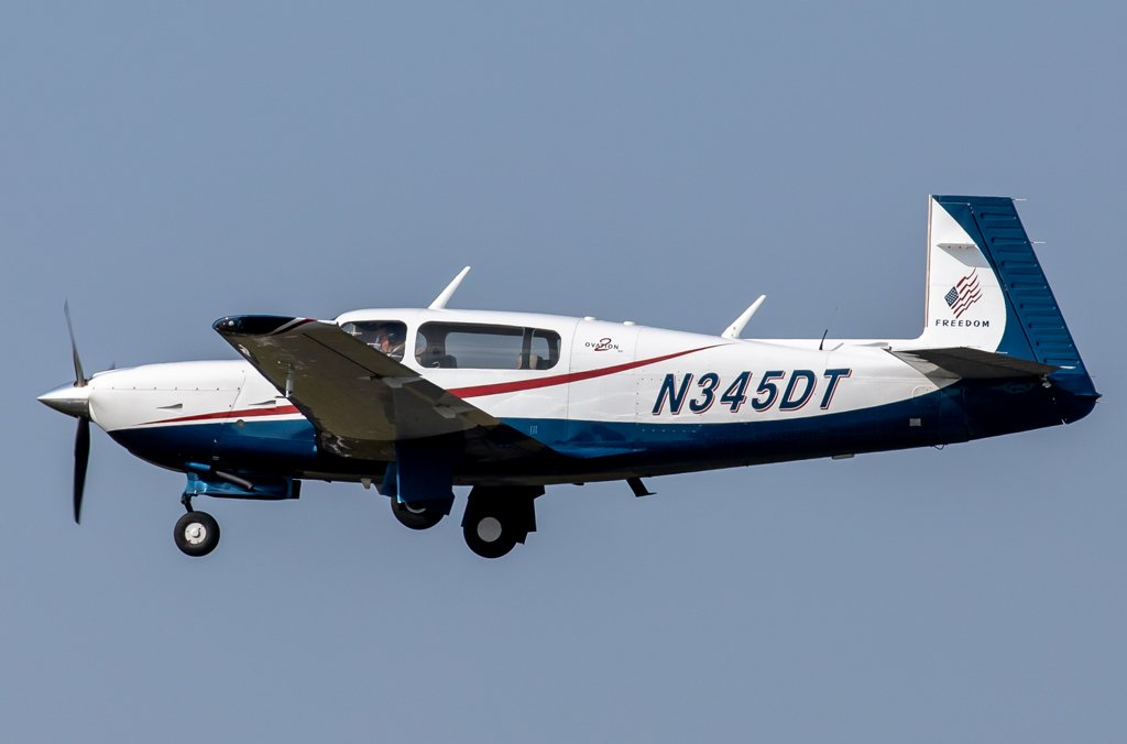 Privat / N345DT / Mooney M20R Ovation 2GX