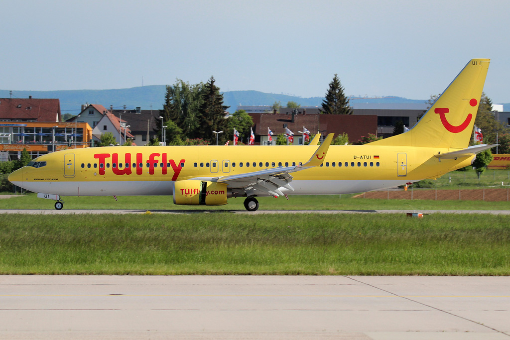 Boeing 737-800WL Tuifly D-ATUI